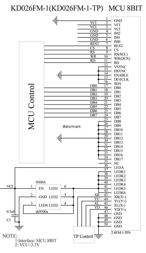 利达6800ed模块接线图