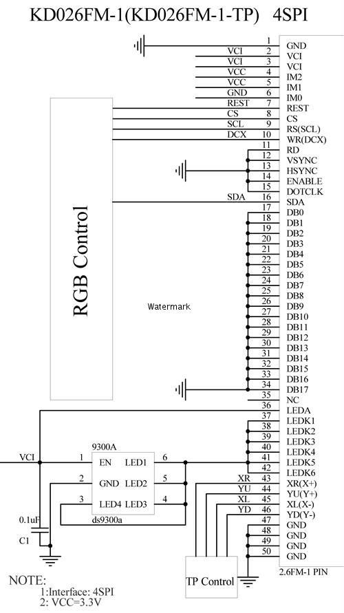利达模块6800ec_1接线示意图
